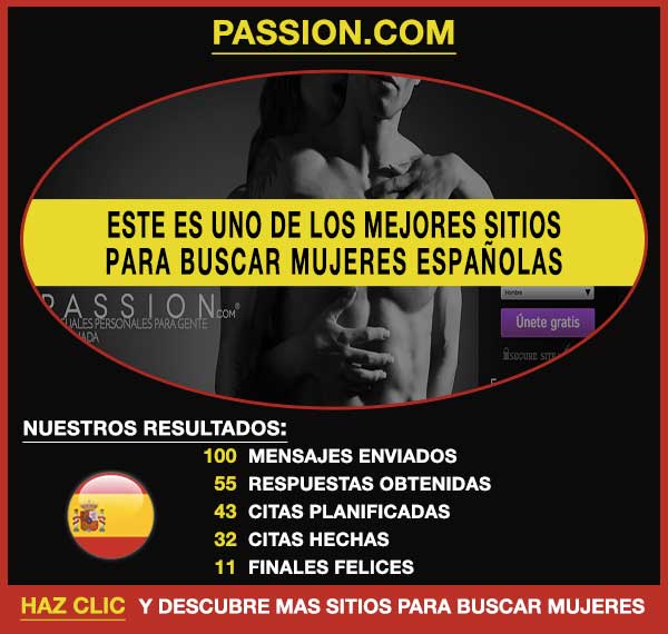 Sitio para buscar Passion
