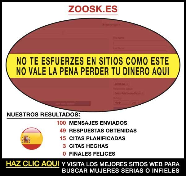 Sitio para buscar Zoosk