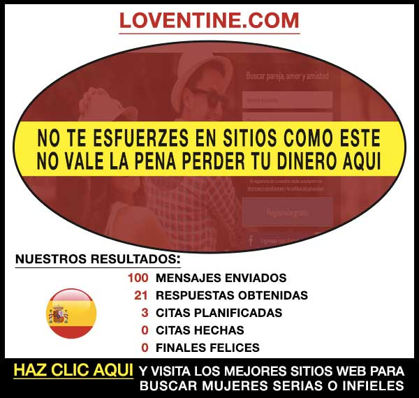 Sitio para buscar Loventine